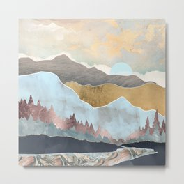 Winter Light Metal Print