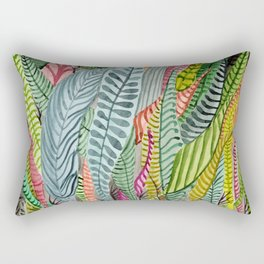 Sea Plants Rectangular Pillow