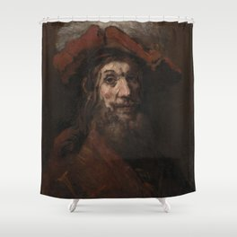 Rembrandt - The Crusader Shower Curtain