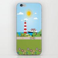 denmark iPhone & iPod Skins featuring Landscape of Denmark by Design4u Studio