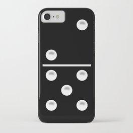 Black Domino / Domino Negro iPhone Case