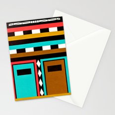 Tribe Mask Stationery Cards