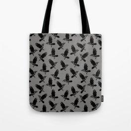 flock of crows Tote Bag