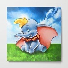 Dumbo Metal Print