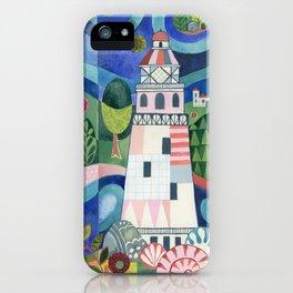 Island Lighthouse iPhone Case