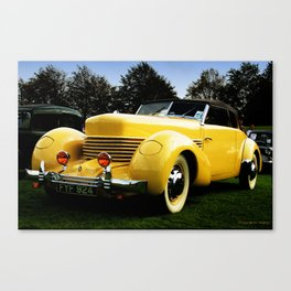 Lean mean machine Canvas Print
