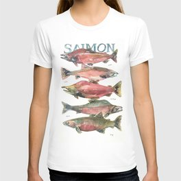 Salmon Salmon Salmon T-shirt