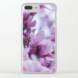 pink magnolia #society6 #decor #buyart Clear iPhone Case