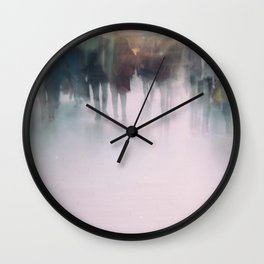 The Anonymous World We Live In Wall Clock