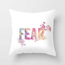 fear not, for I am with you Throw Pillow