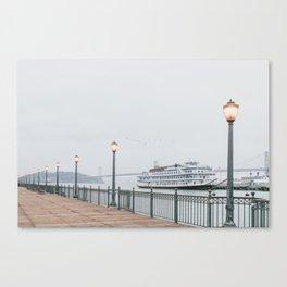 San Francisco Pier Canvas Print
