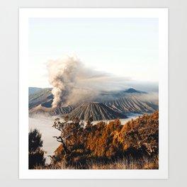 Mount Bromo Indonesia Art Print