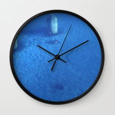 Ice Forest Wall Clock