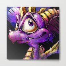 Spyro the Dragon Metal Print