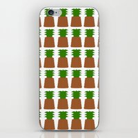 pineapples iPhone & iPod Skins featuring Pineapples by Justbyjulie