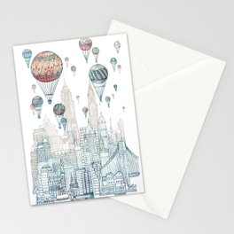 Voyages Over New York ~Refresh Stationery Cards