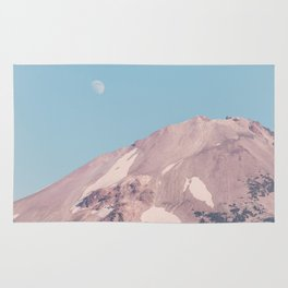 Pastel Mountain Moon Rug
