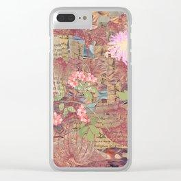 Summergarden Clear iPhone Case