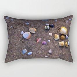 Rainbow Shells Rectangular Pillow