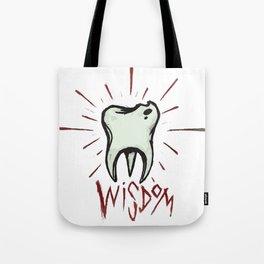 Wisdom Tooth Tote Bag