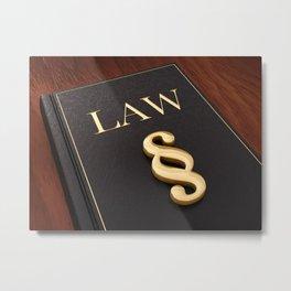 Judiciary Metal Print