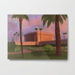 Mesa Temple Metal Print