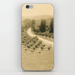 Umpqua Valley, Pacific Highway, Oregon iPhone Skin