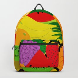 Fruits Pattern Backpack