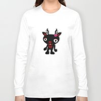 minnie Long Sleeve T-shirts featuring Minnie by Karen Strempel