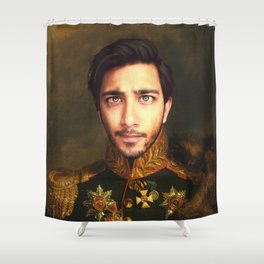 His Infernal Majesty Shower Curtain