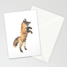 Penrose Tiling Fox  Stationery Cards