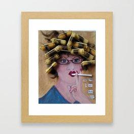 Flo Led A Hard Life Framed Art Print