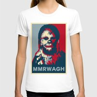 chewbacca T-shirts featuring Chewbacca  by Ilustrachii