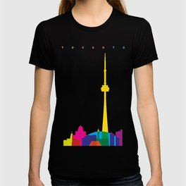 Shapes of Toronto. Accurate to scale T-shirt