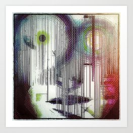 face the music Art Print