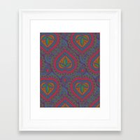 decorative Framed Art Prints featuring Decorative by Aimee St Hill