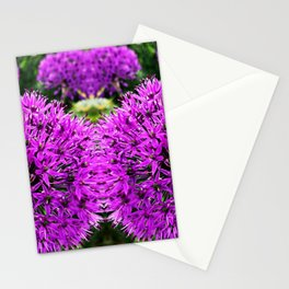 Magic Purple Flower Photography Stationery Cards
