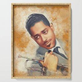 Dizzy Gillespie, Music Legend Serving Tray