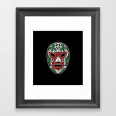 Mexican Wrestling Mask - Color Edition Framed Art Print