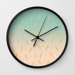 Spring Sun Set Wall Clock