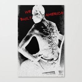 We built it! Canvas Print