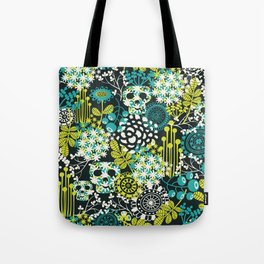 Flowers on the head. Tote Bag