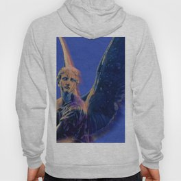 Angel in Blue and Gold Hoody