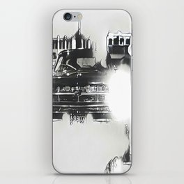 Death Drives Here iPhone Skin