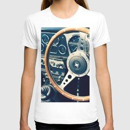 Old Triumph Wheel / Classic Cars Photography T-shirt