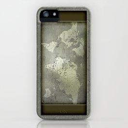 Globe Trotter - Careworn iPhone Case