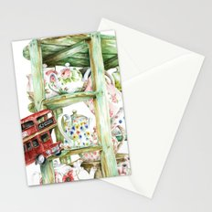 Alice's Teapots Stationery Cards
