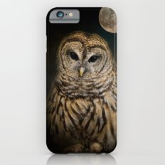 Barred Owl and the Moon Slim Case iPhone 6s