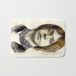 Tommy Boy within flowing pattern Bath Mat
