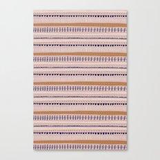 Pink & Orange Pattern Canvas Print